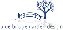 Blue Bridge Garden Design Logo