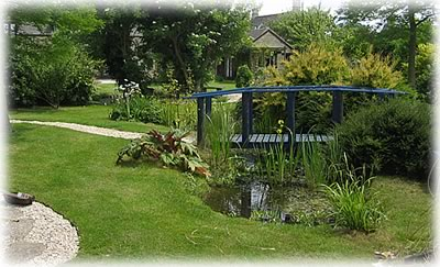 Garden design oxfordshireblue bridge garden designgarden for Garden design oxfordshire