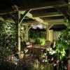 Dining area, A Garden by Night