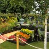 Benecol Garden supporting Rainbow Childrens Trust Charity